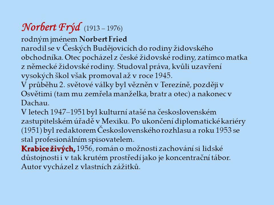 Norbert Frýd (1913 – 1976) rodným jménem Norbert Fried