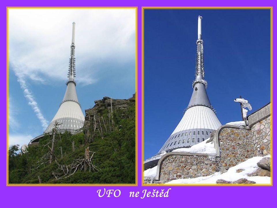 UFO ne Ještěd
