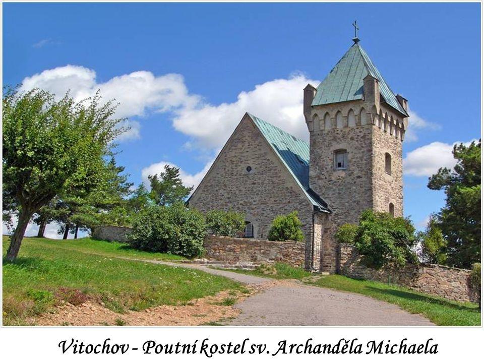 Vitochov - Poutní kostel sv. Archanděla Michaela