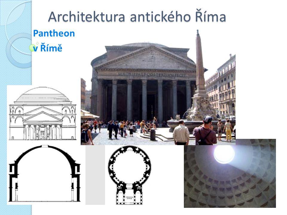 Architektura antického Říma