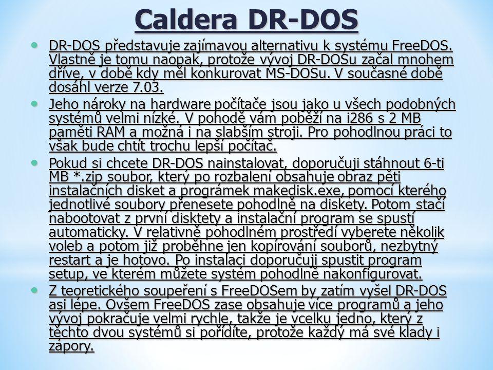 Caldera DR-DOS
