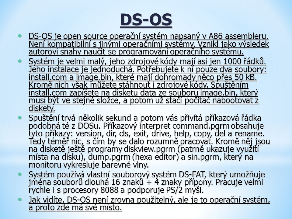 DS-OS