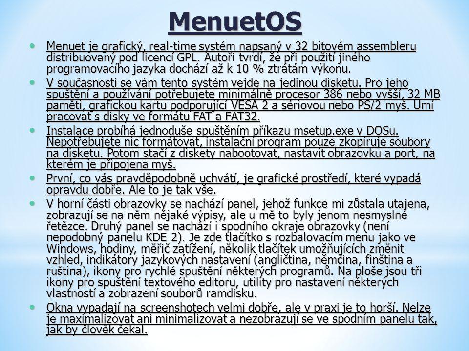 MenuetOS