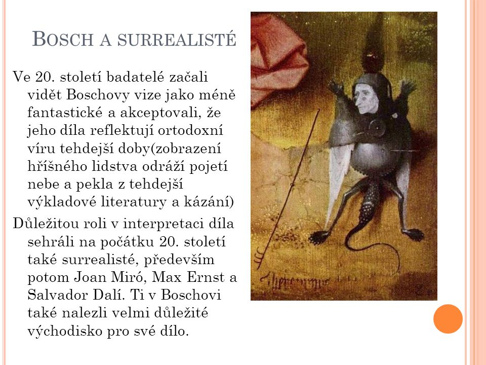 Bosch a surrealisté