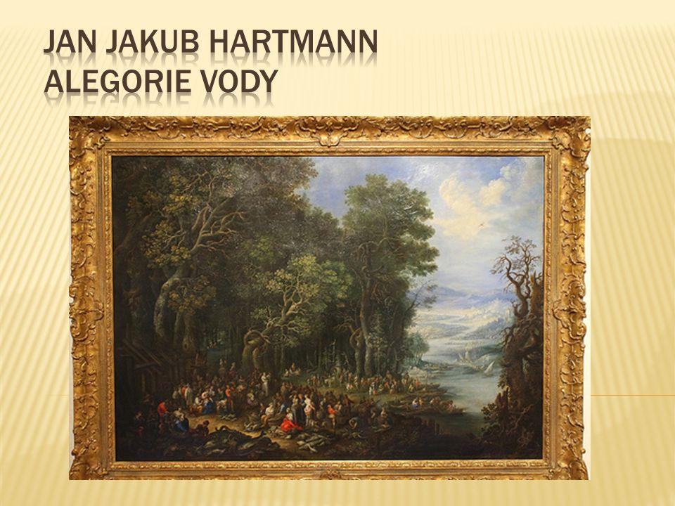 Jan Jakub Hartmann Alegorie vody