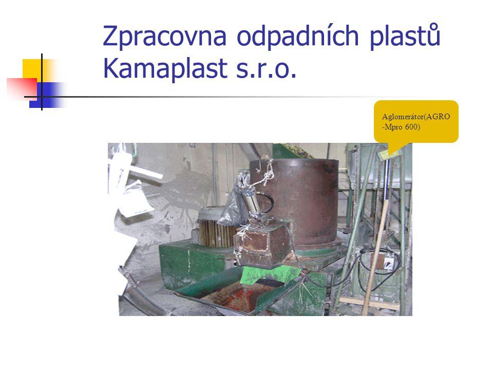 Zpracovna odpadních plastů Kamaplast s.r.o.