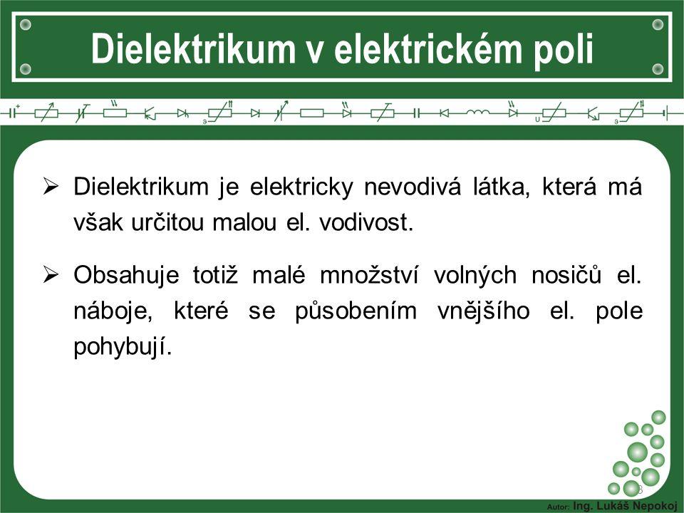 Dielektrikum v elektrickém poli