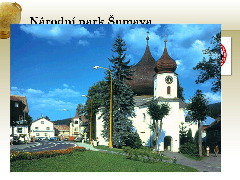 Národní park Šumava je největší ze 4 NP Rozloha NP: 683,3 km2
