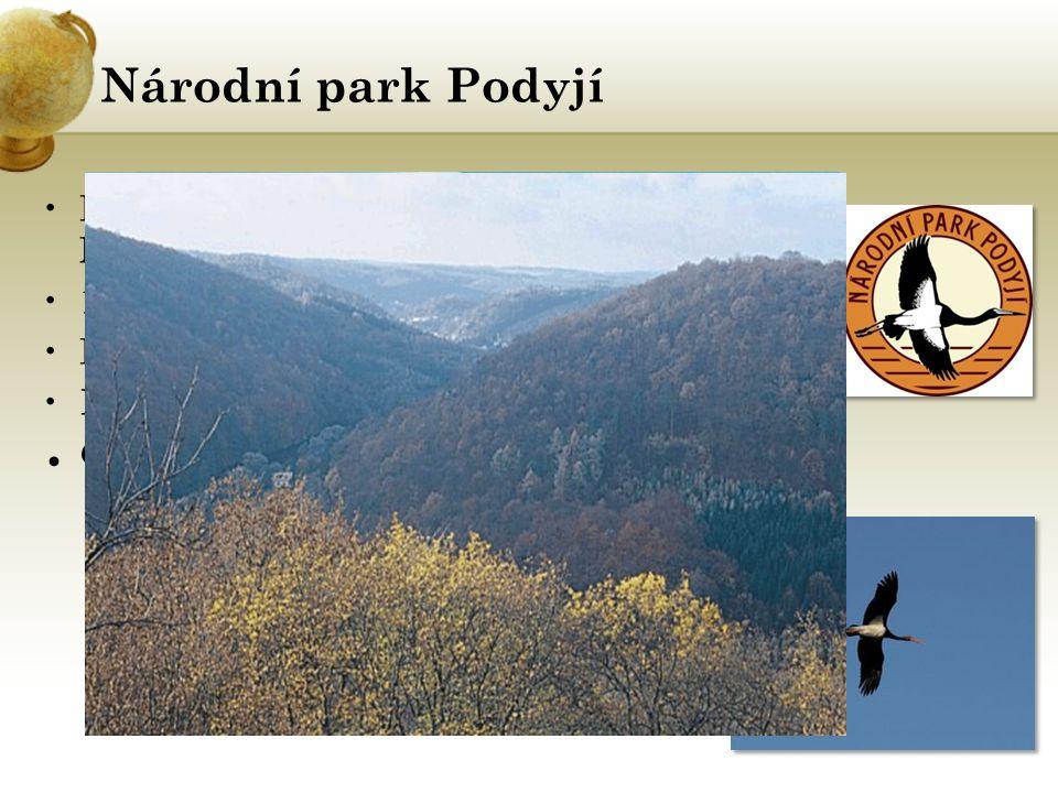 Národní park Podyjí Čáp