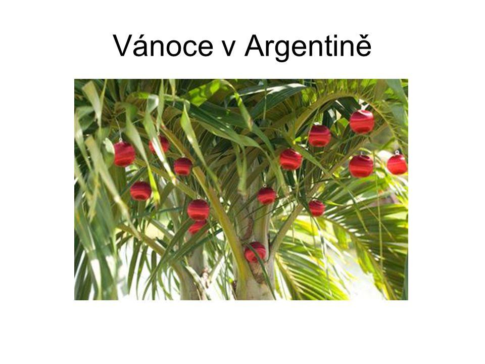 Vánoce v Argentině