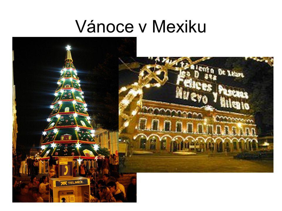 Vánoce v Mexiku