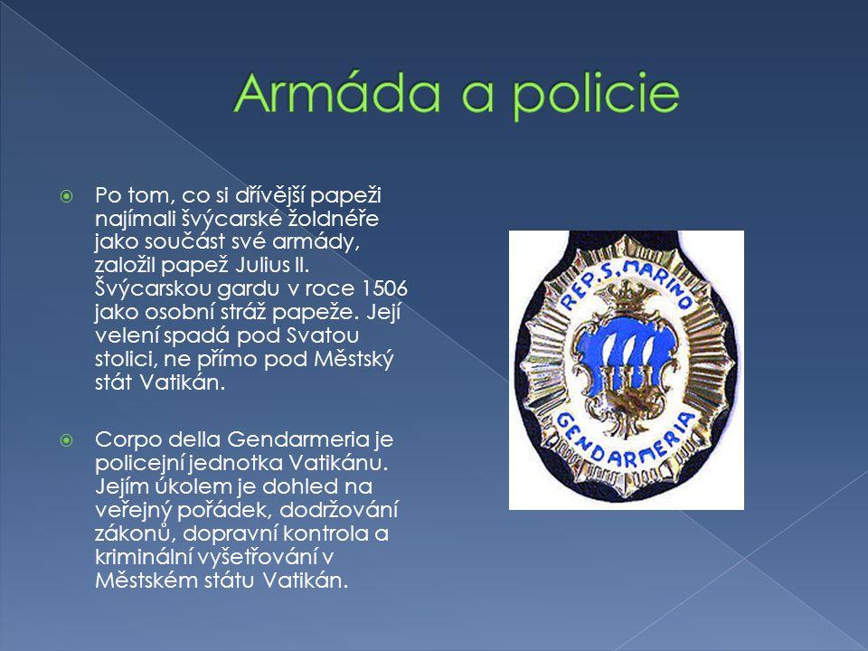 Armáda a policie