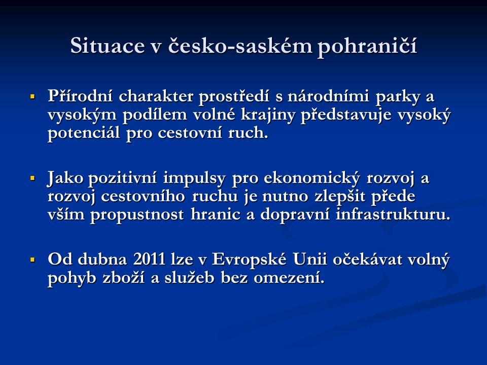Situace v česko-saském pohraničí