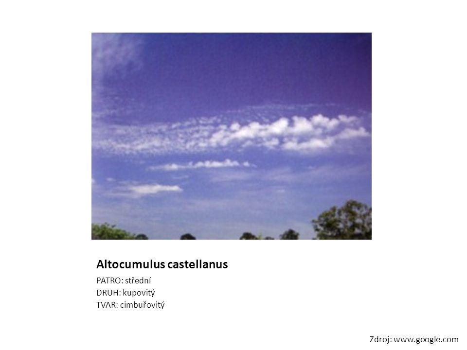 Altocumulus castellanus