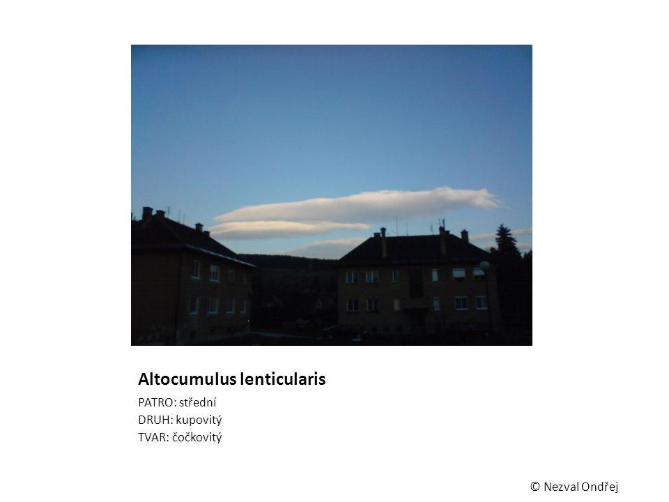 Altocumulus lenticularis