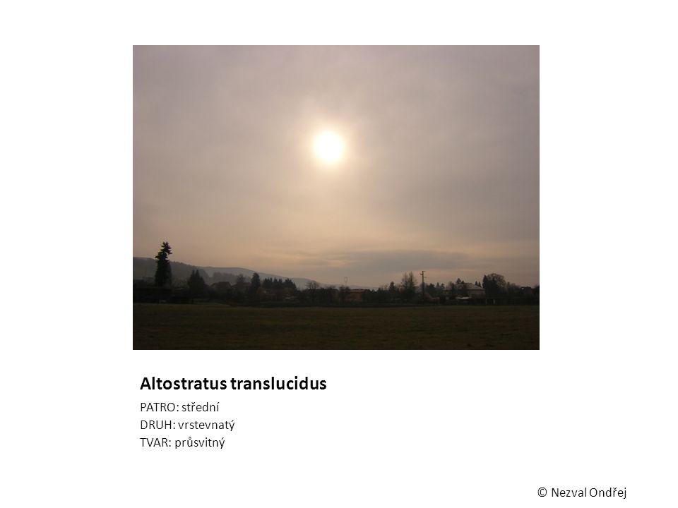 Altostratus translucidus