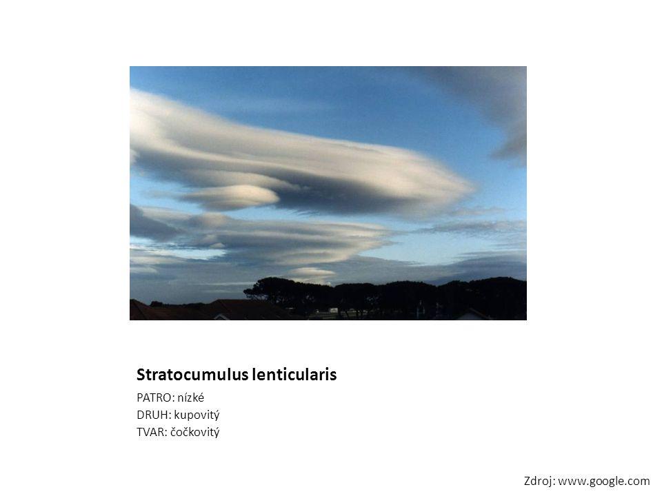 Stratocumulus lenticularis