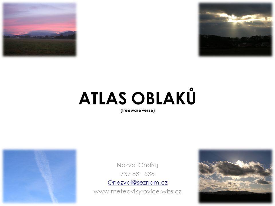 ATLAS OBLAKŮ (freeware verze)