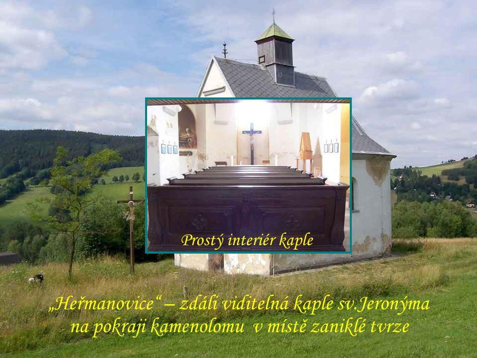 """""""Drakov """"Heřmanovice – zdáli viditelná kaple sv.Jeronýma"""