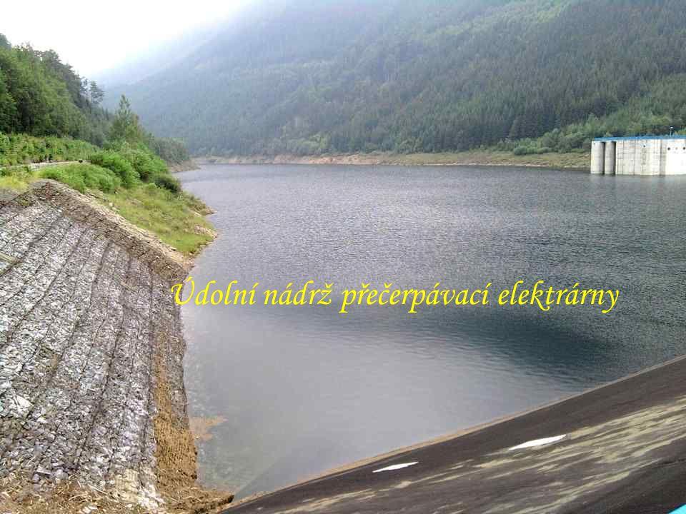 Údolní nádrž přečerpávací elektrárny