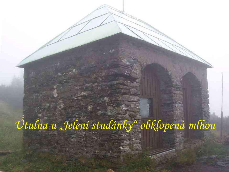 """""""Jelení studánka (1311 m) """"Břidličná hora (1358 m)"""