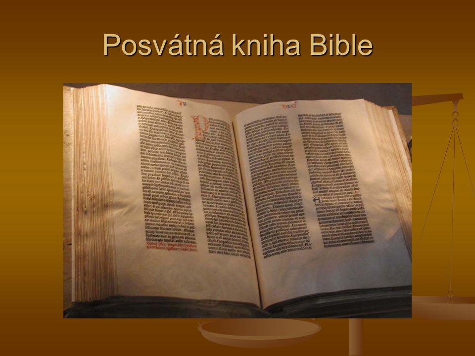 Posvátná kniha Bible