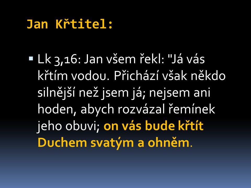 Jan Křtitel: