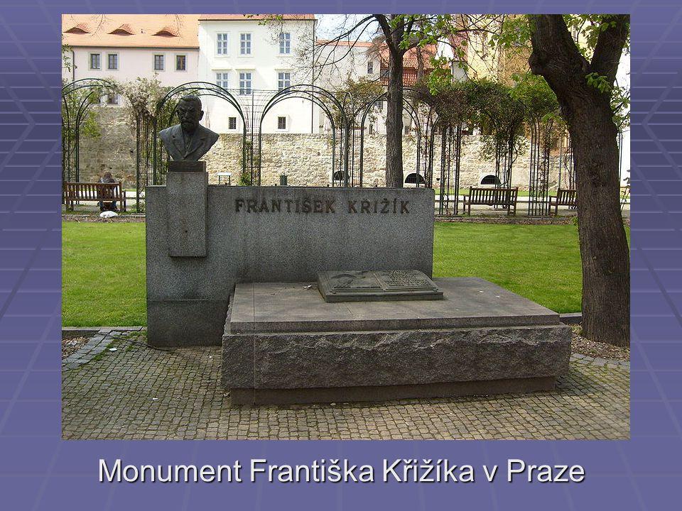Monument Františka Křižíka v Praze