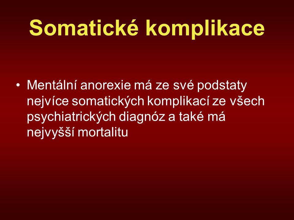 Somatické komplikace