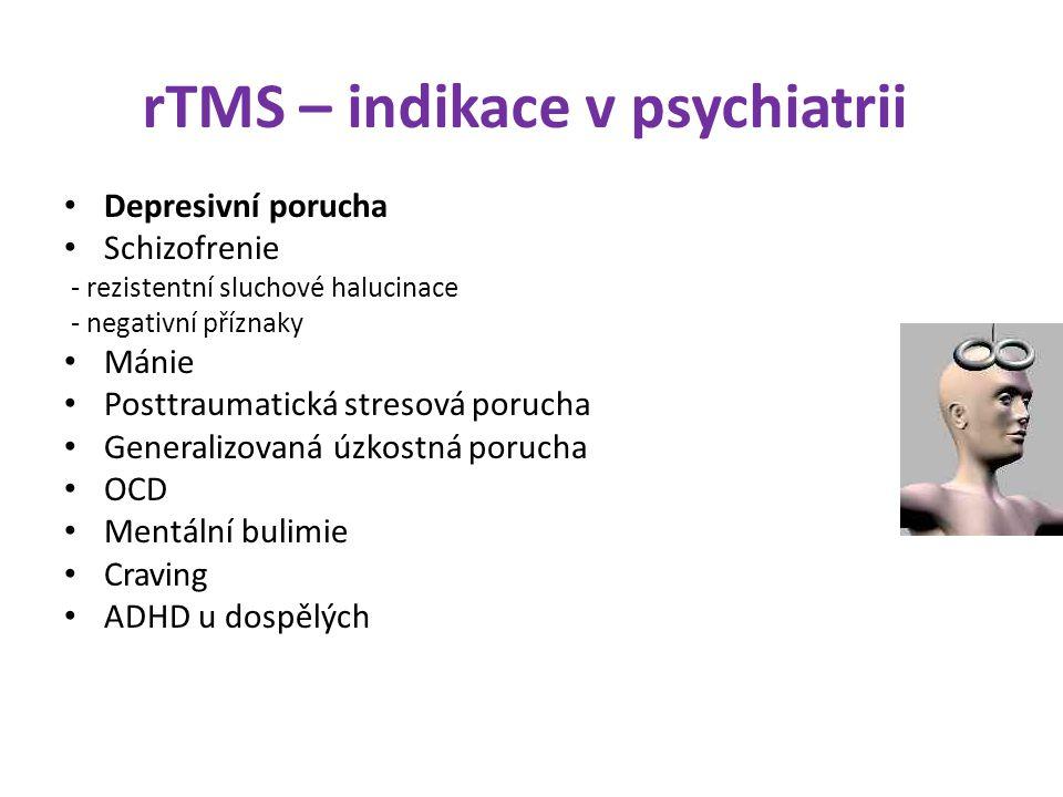 rTMS – indikace v psychiatrii