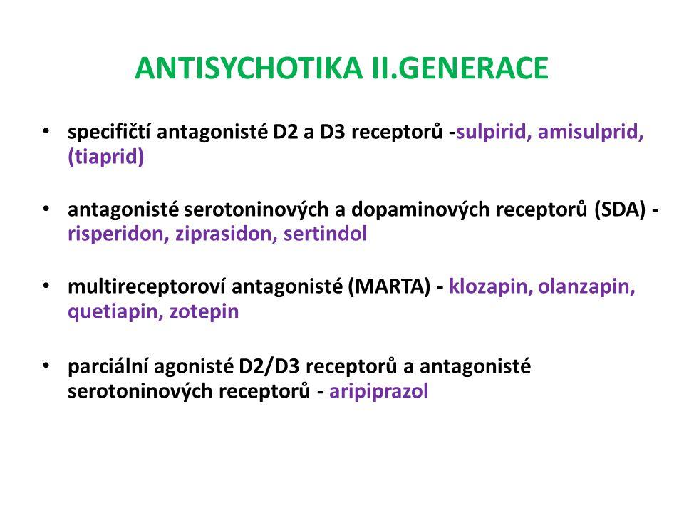 ANTISYCHOTIKA II.GENERACE