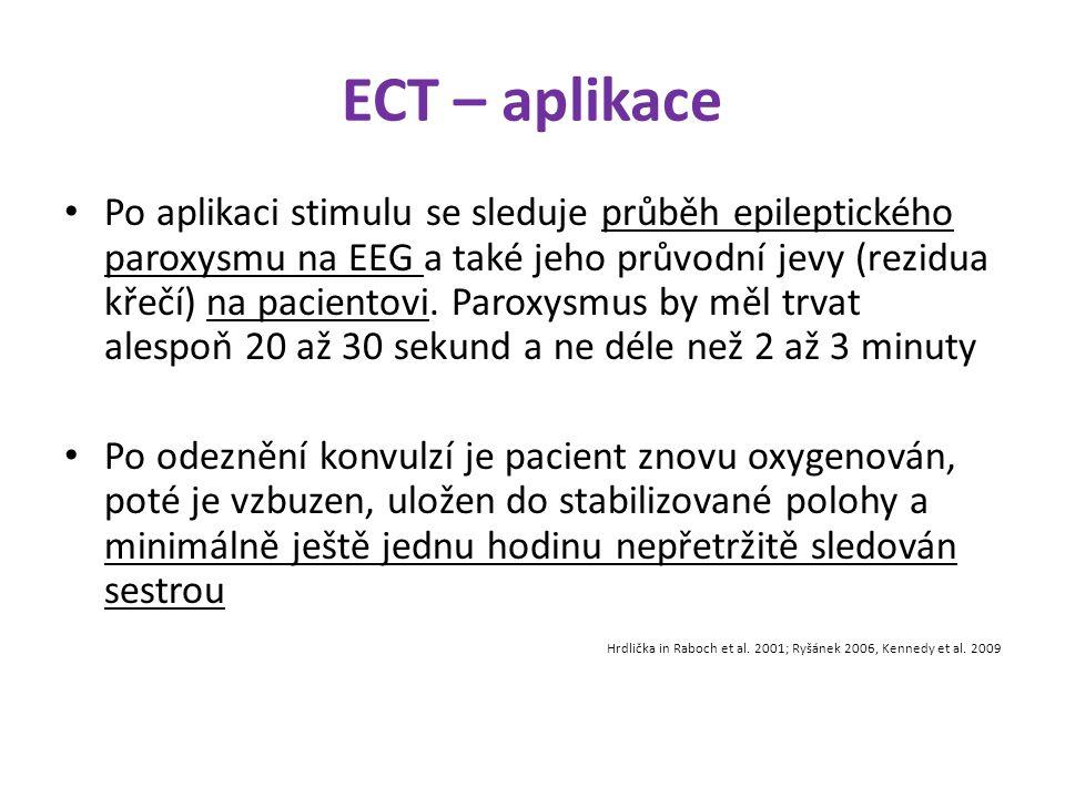 ECT – aplikace