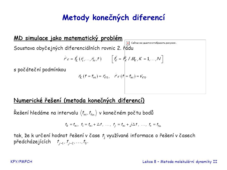 Metody konečných diferencí