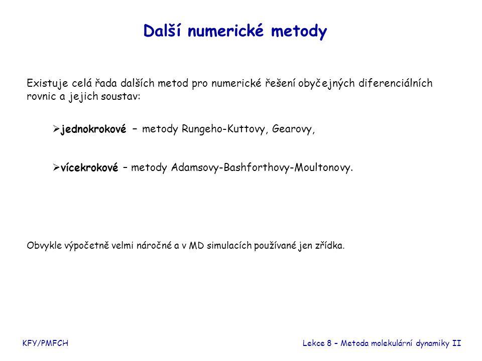Další numerické metody
