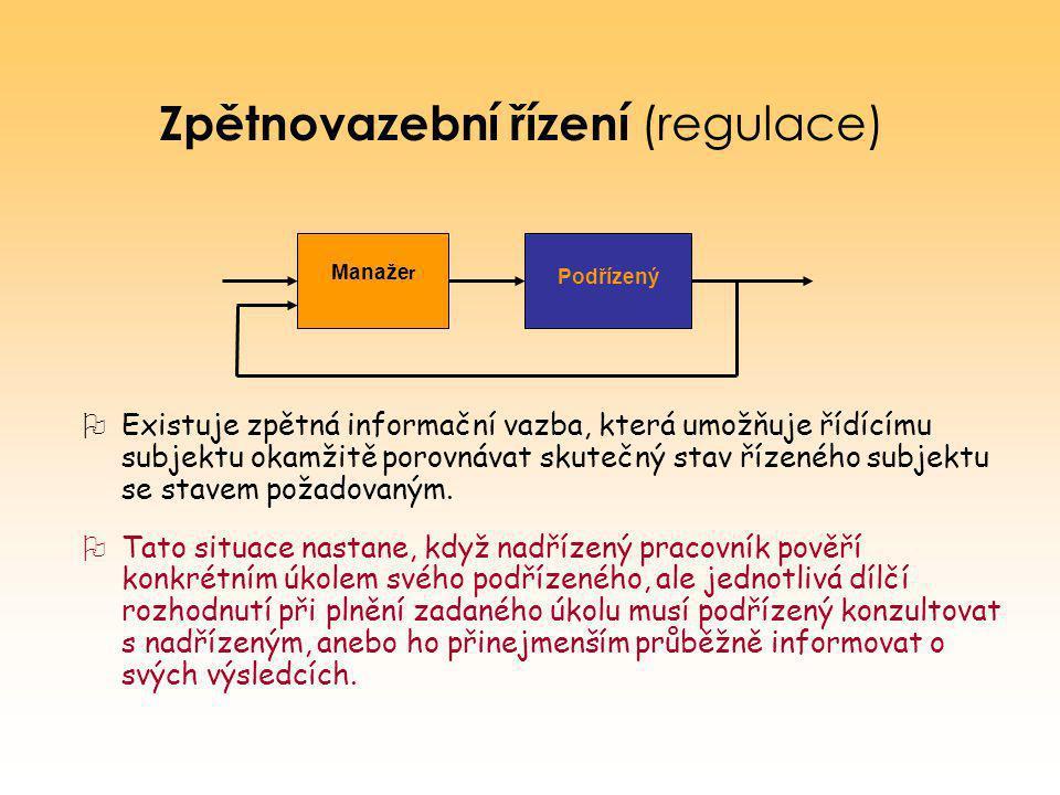 Zpětnovazební řízení (regulace)