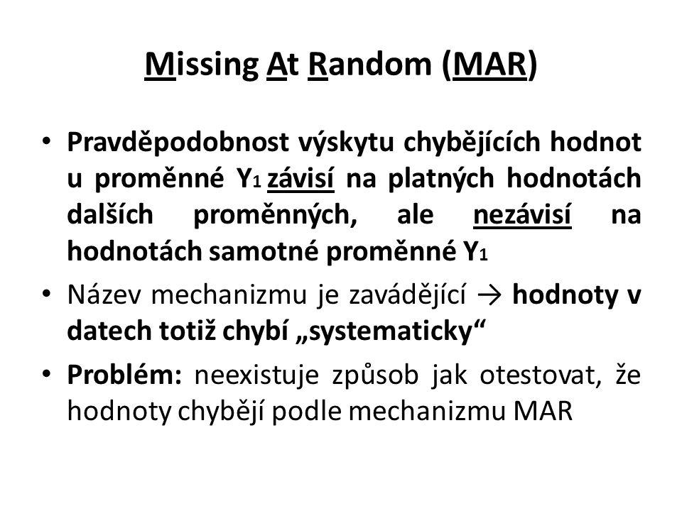 Missing At Random (MAR)