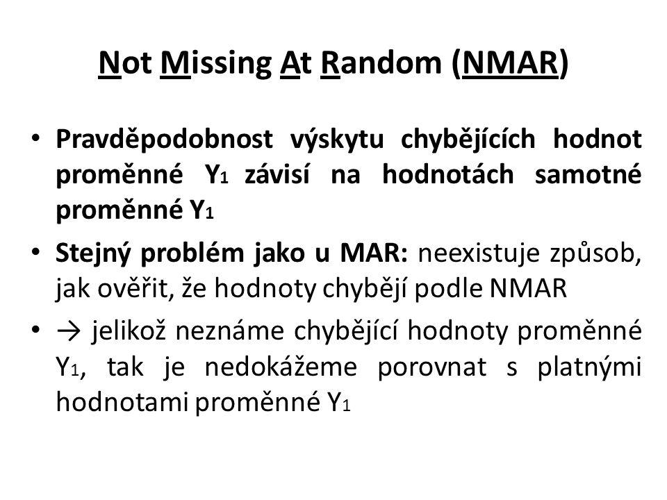 Not Missing At Random (NMAR)