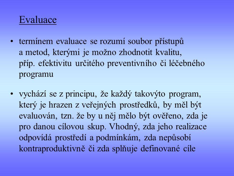 Evaluace