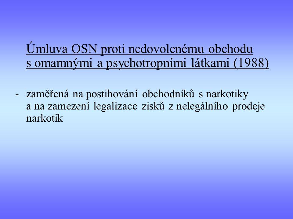 Úmluva OSN proti nedovolenému obchodu s omamnými a psychotropními látkami (1988)