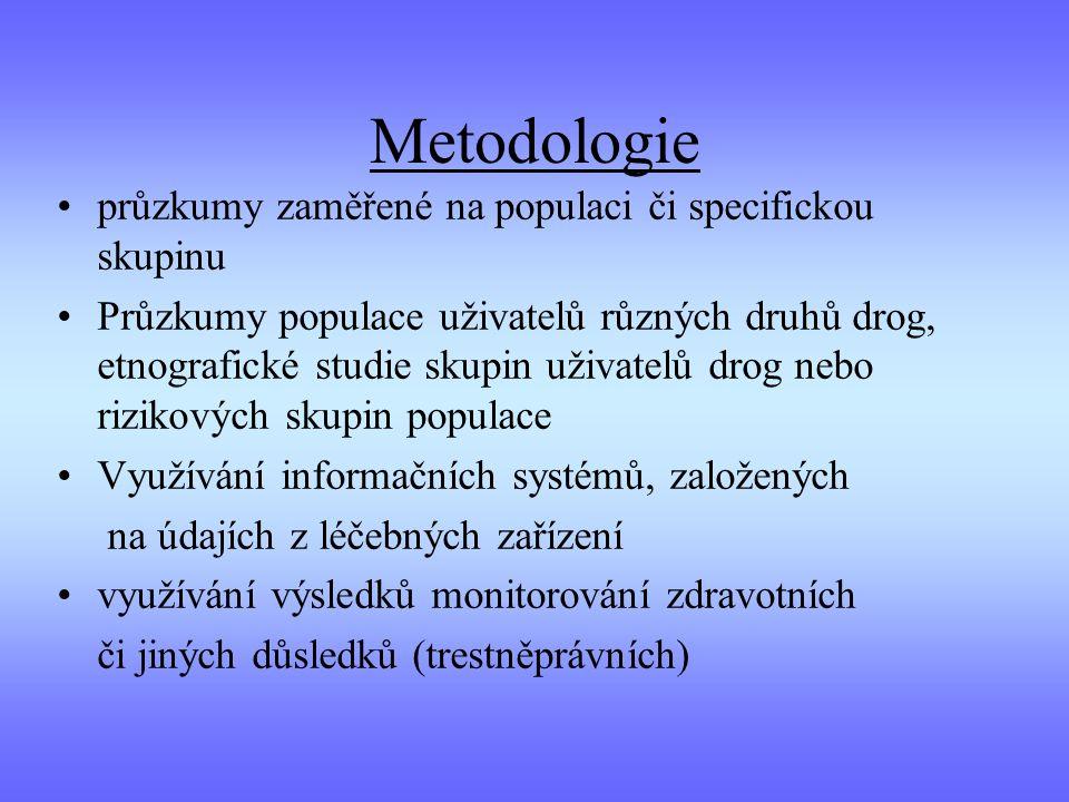 Metodologie průzkumy zaměřené na populaci či specifickou skupinu