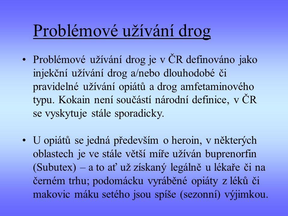 Problémové užívání drog