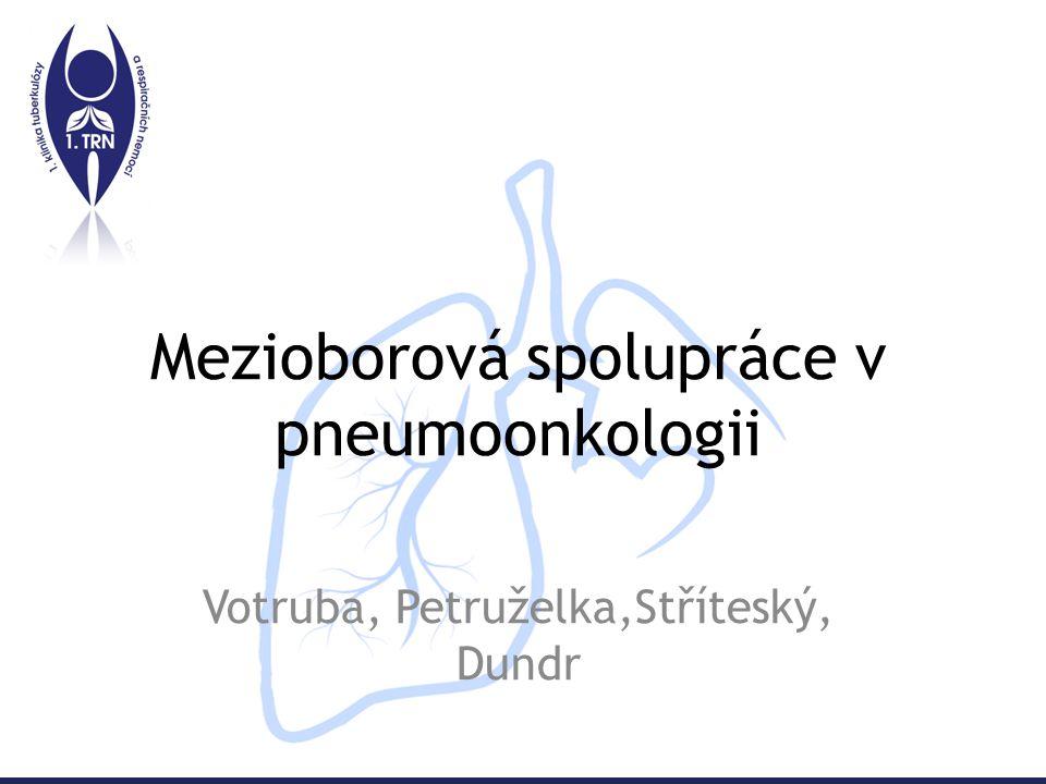 Mezioborová spolupráce v pneumoonkologii