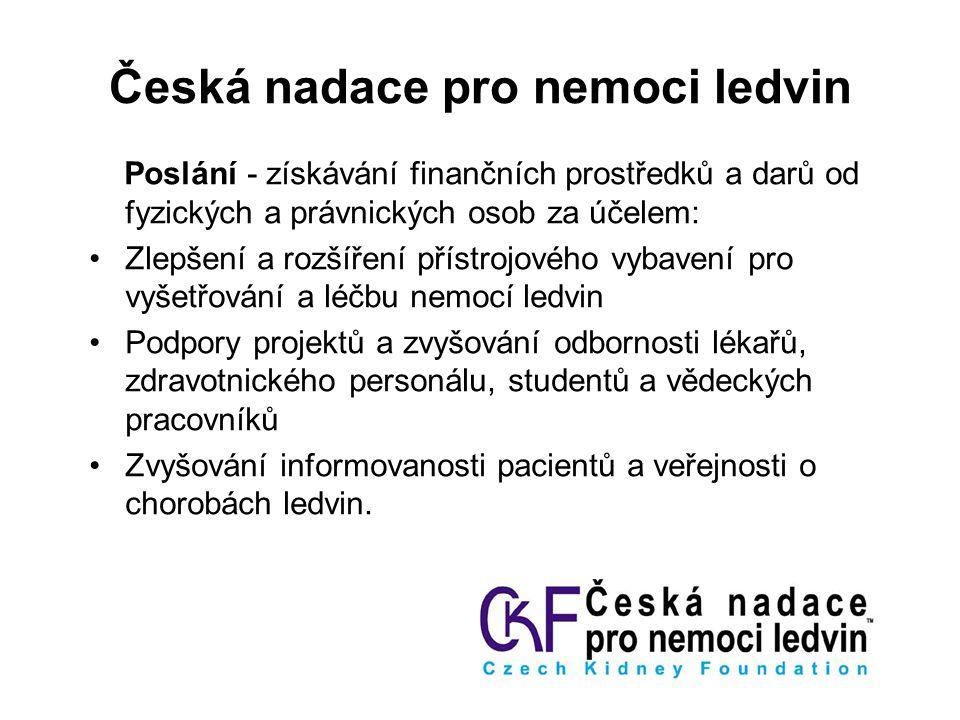Česká nadace pro nemoci ledvin