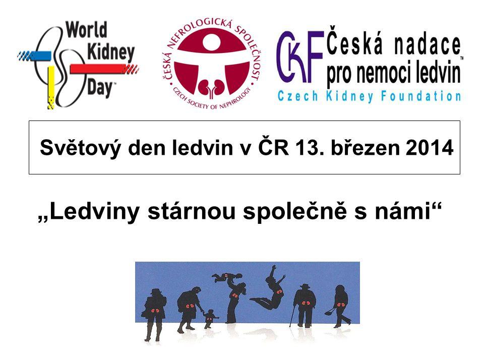 Světový den ledvin v ČR 13. březen 2014