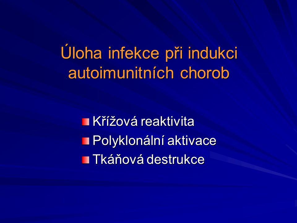 Úloha infekce při indukci autoimunitních chorob