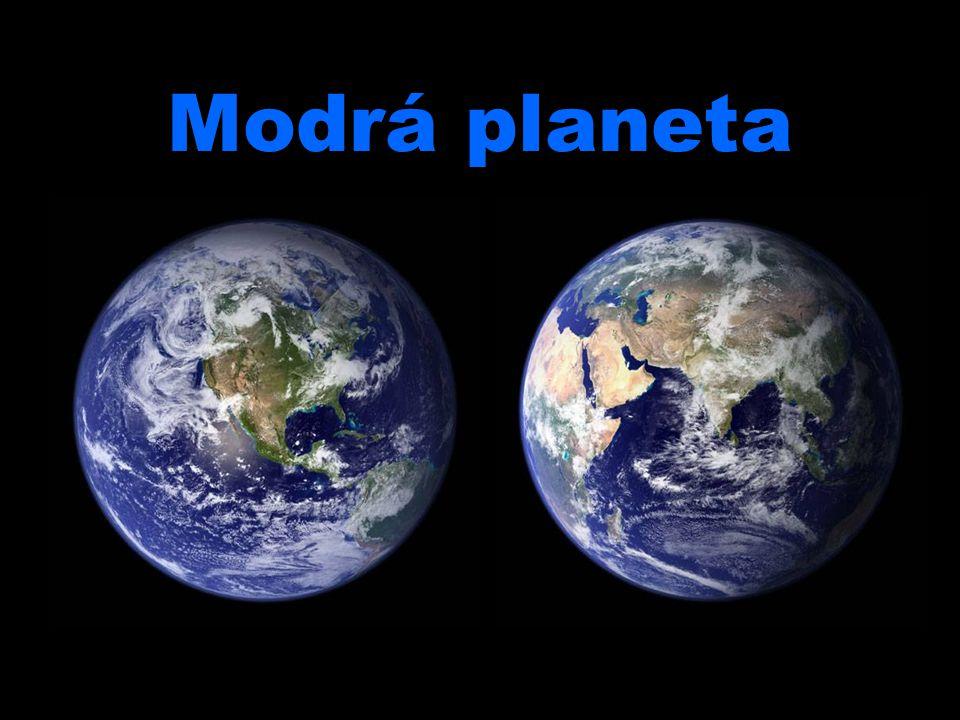 Modrá planeta