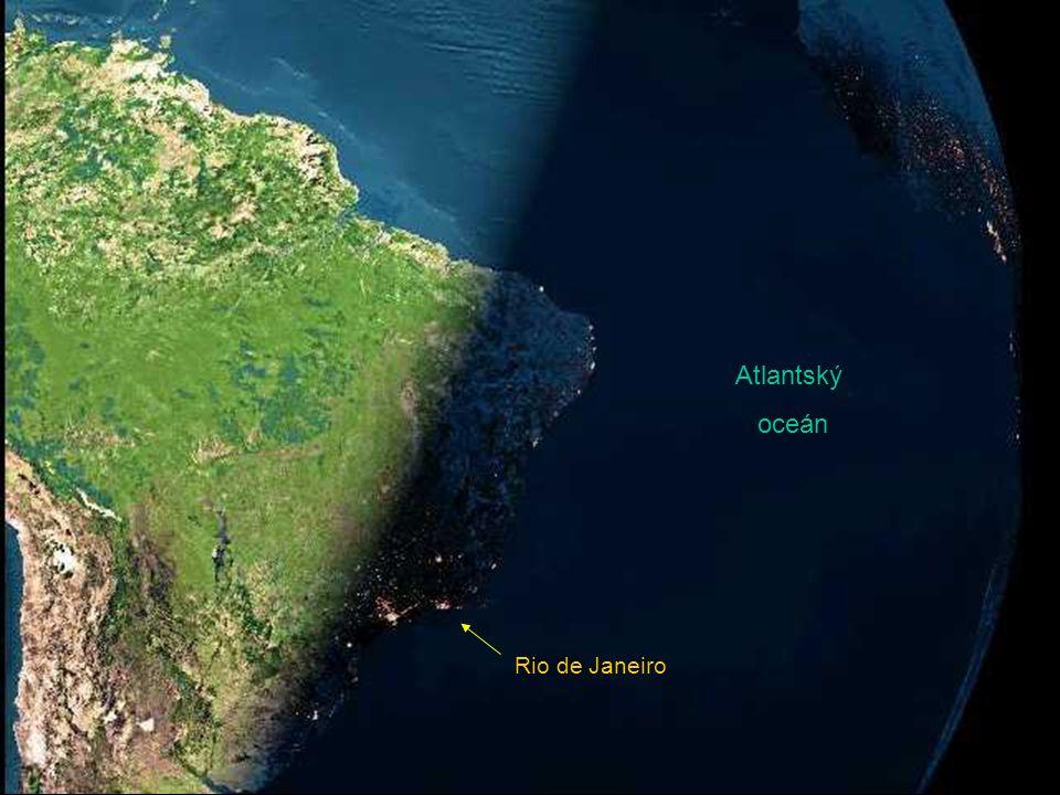 Atlantský oceán Rio de Janeiro