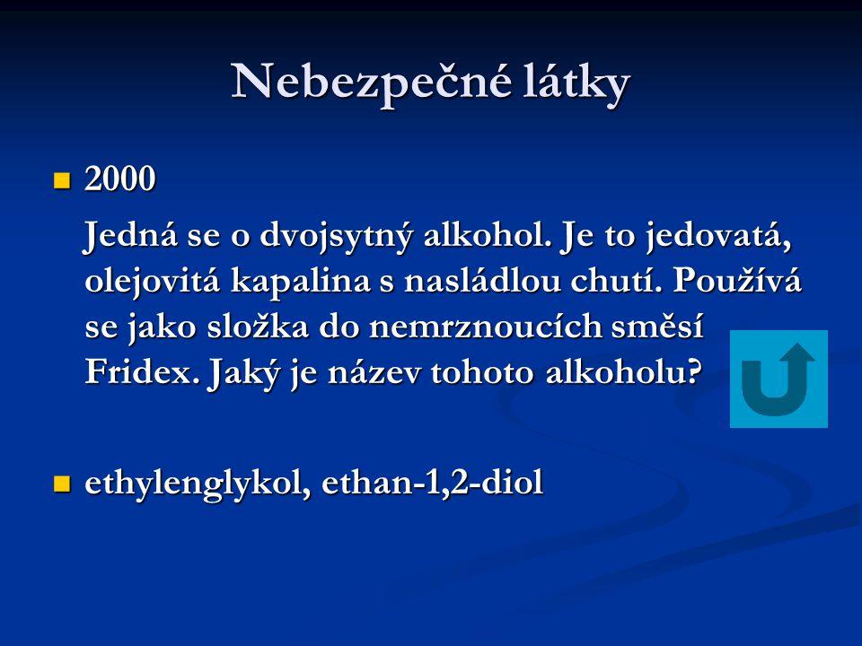 Nebezpečné látky 2000.