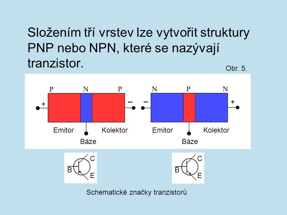 Schematické značky tranzistorů