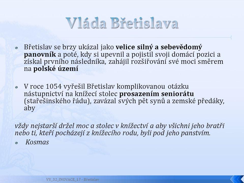 Vláda Břetislava